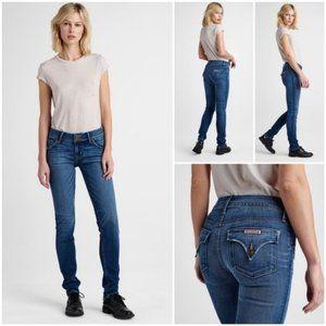 Hudson Collin Midrise Skinny Jean in Contender